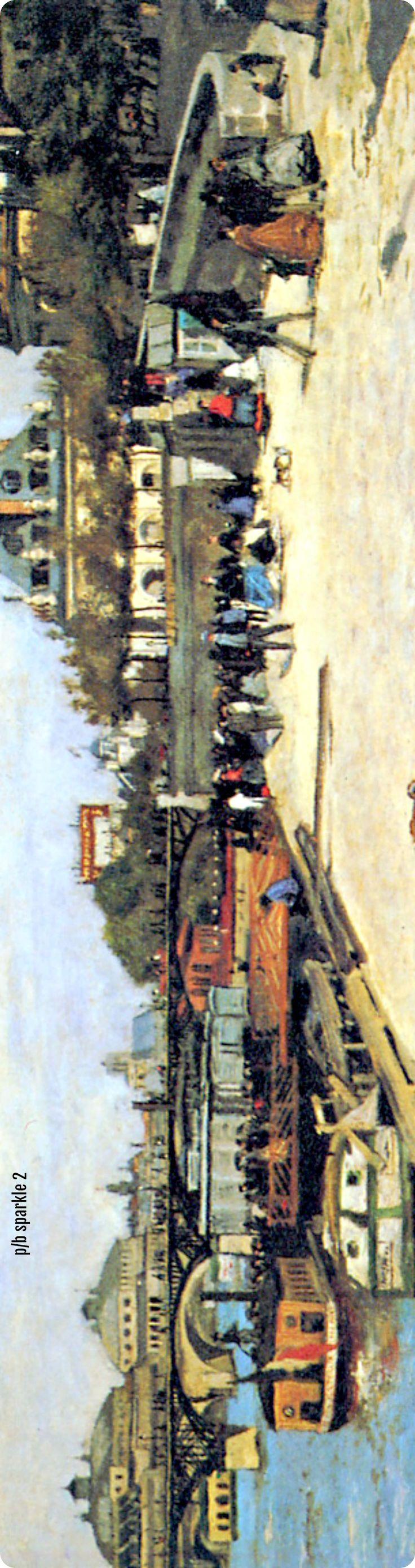 Pierre-Auguste Renoir (1841-1919): The Pont des Arts and the Institut de France, 1867