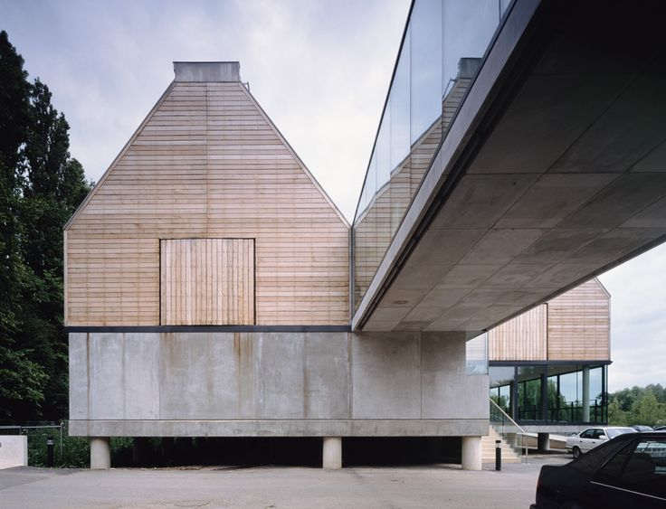 River and Rowing Museum   Henley-on-Thames, Oxfordshire, England, UK   David Chipperfield Architects