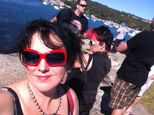 Day off in Sydney at Balmoral Beach with mates
