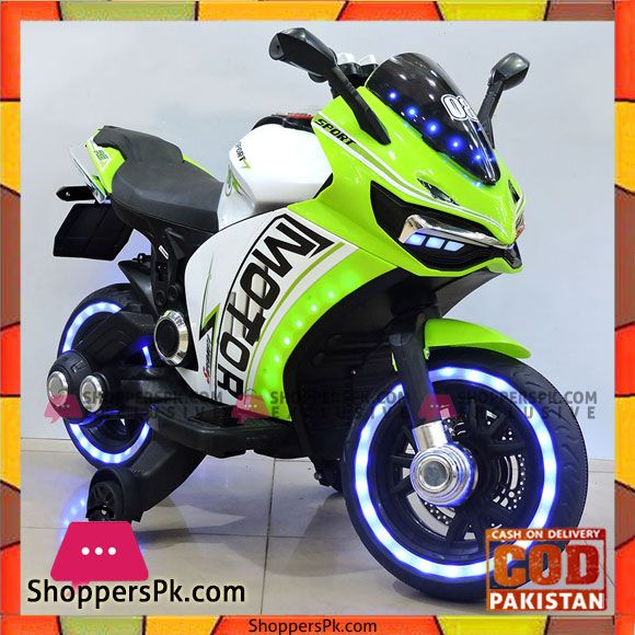 Buy Yamaha R6 Battery Operated Kids Electric Bike Handle Race With Lighting Wheel At Best Price In Pakistan Electric Bike Kids Electric Bike Electric Bike For Kids