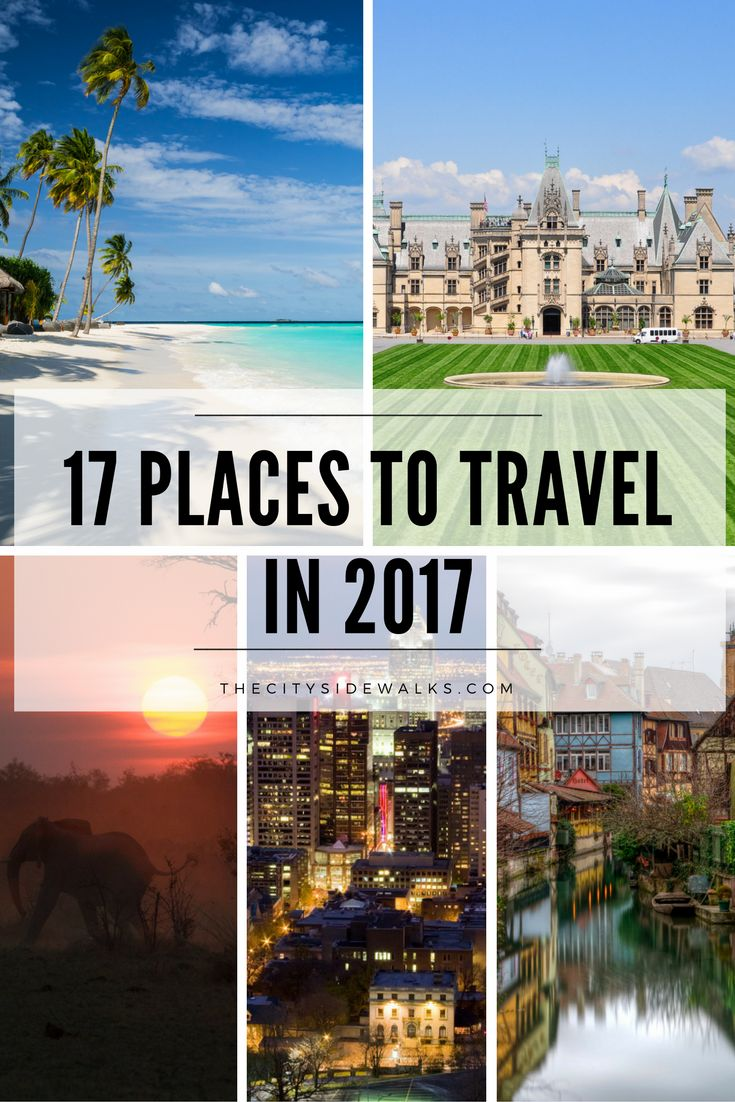 We've finally put the [crazy] year of 2016 behind us and it's time to refresh our annual travel bucket lists! It's time to get our planners out and start making moves. So get your passports ready and let's dive into this year's 17 Places to Travel in 2017!