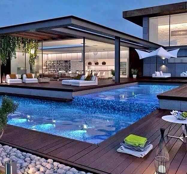 Outdoor Luxury Pool House