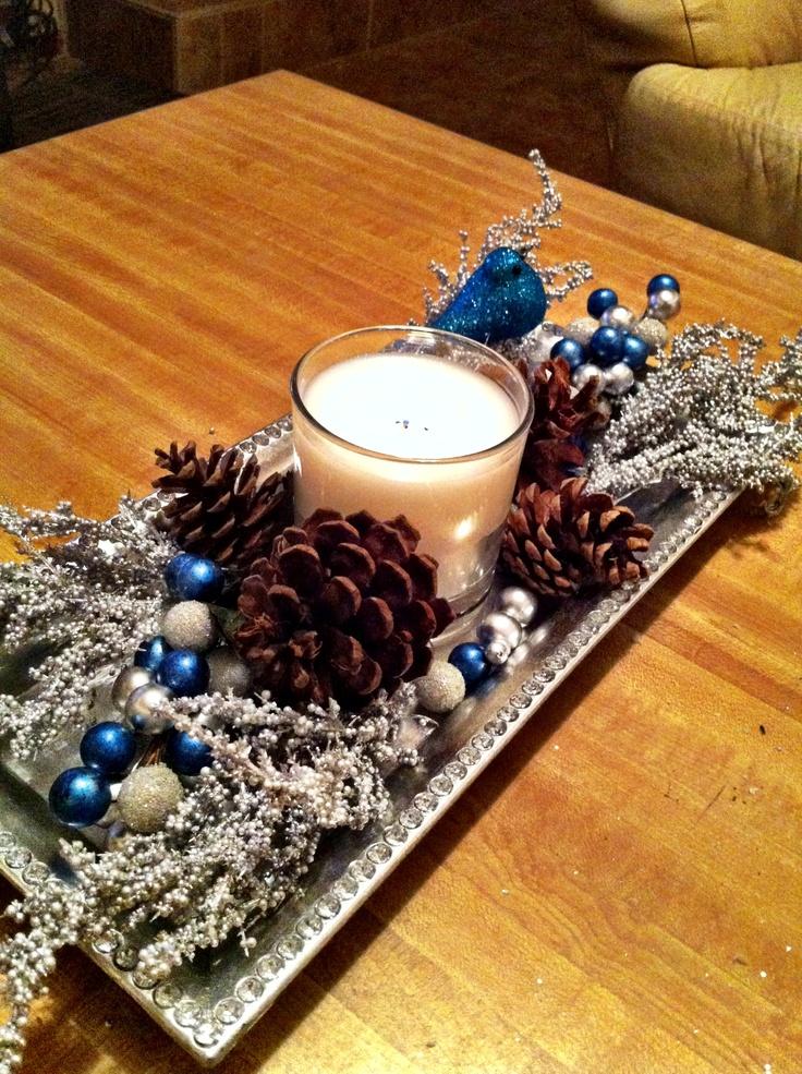 My Winter 2017 Capsule Wardrobe: My Winter Wonderland Christmas Coffee Table!