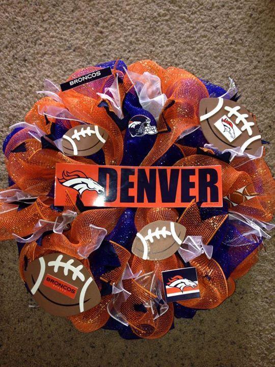 Denver Brocos Wreath