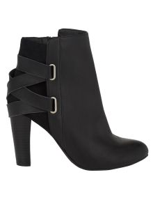 #NewandNow Salucci Collection Leather Madrid Strap Ankle Boot product photo