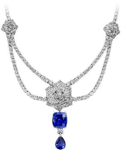 Collar Oro blanco Diamante - PIAGET Joyas y Alta Joyería