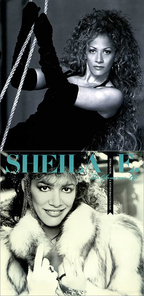 """Shelia E releases """"The Glamorous Life"""" in 1984. See her spectacular live performance at the 1985 American Music Awards in my board, """"My Music: The Girls""""."""