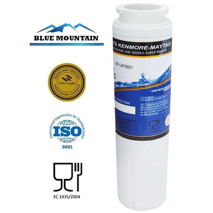 BLUE MOUNTAIN UKF 8001 Compatible Refrigerator Water Filter #BlueMountain