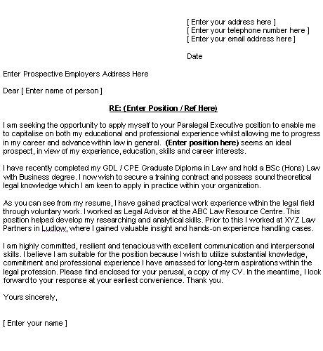 10 best Cover Letter images on Pinterest Cover letter sample - resume for legal assistant