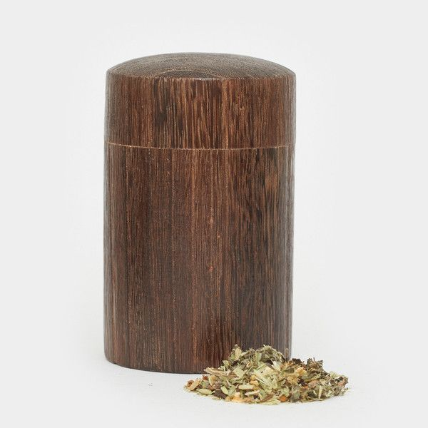 Wooden Herb Stash Container - Cool Material