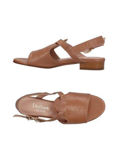 VOLTAN Women's Sandals Brown 10 US