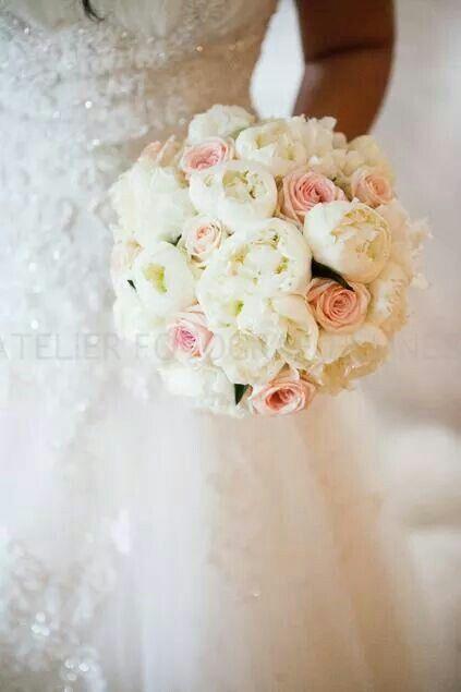 My wedding bouquet  #peones #roses #Norwegian #summer #wedding