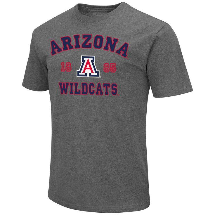 Men's Campus Heritage Arizona Wildcats Heritage Tee, Size: Medium, Dark Blue