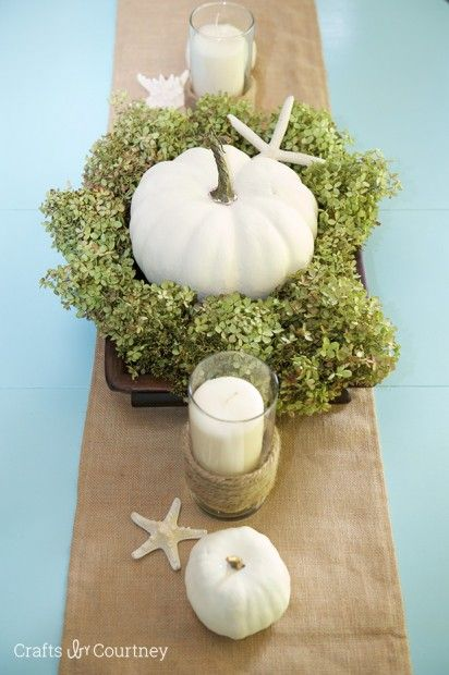 Fall Table Setting Inspiration - Crafts by Courtney Home Tour
