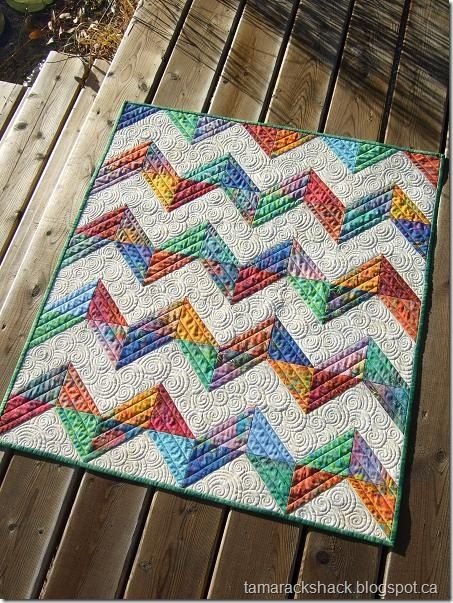 I think this is quite possibly my favorite quilt ever.  I LOVE everything about this beautiful quilt.