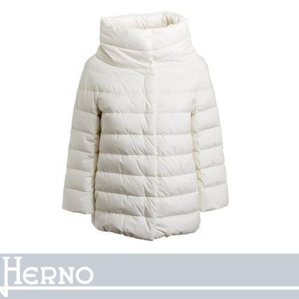 HERNO ダウンジャケット・コート HERNO 女性らしいシルエットを演出するアクティブダウン