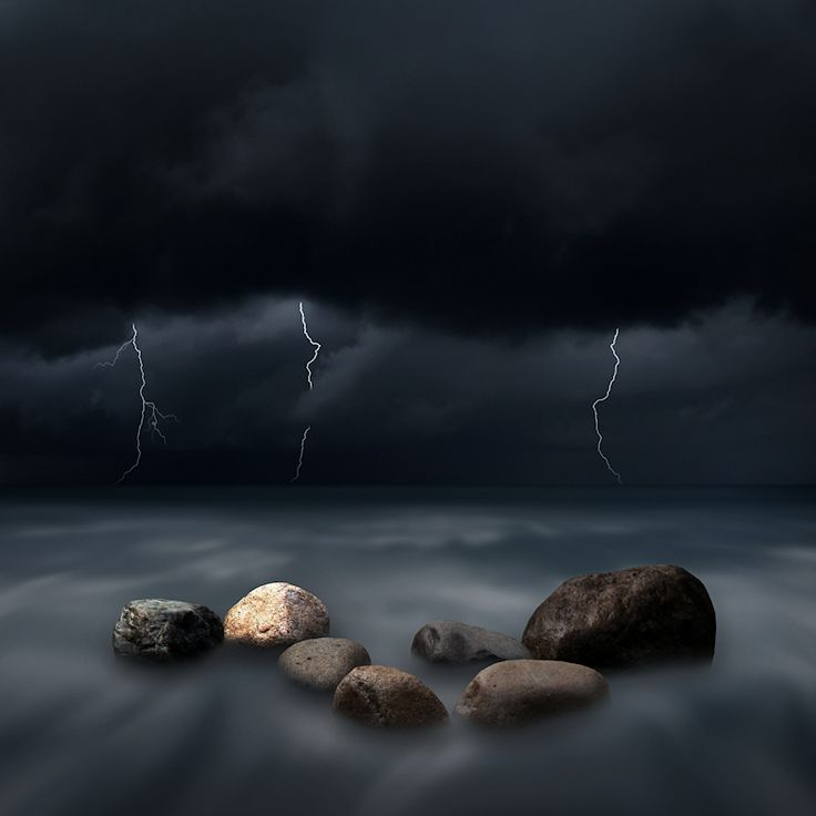Seven Stones in the Storm by Carlos Gotay