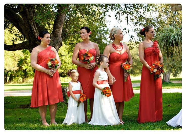 Persimmon Bridesmaid Dresses_Bridesmaid Dresses_dressesss