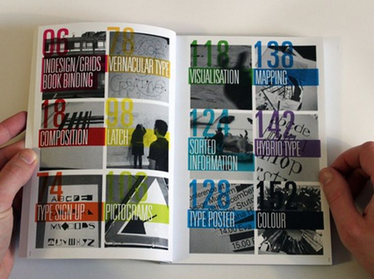 Round up of the best table of contents designs