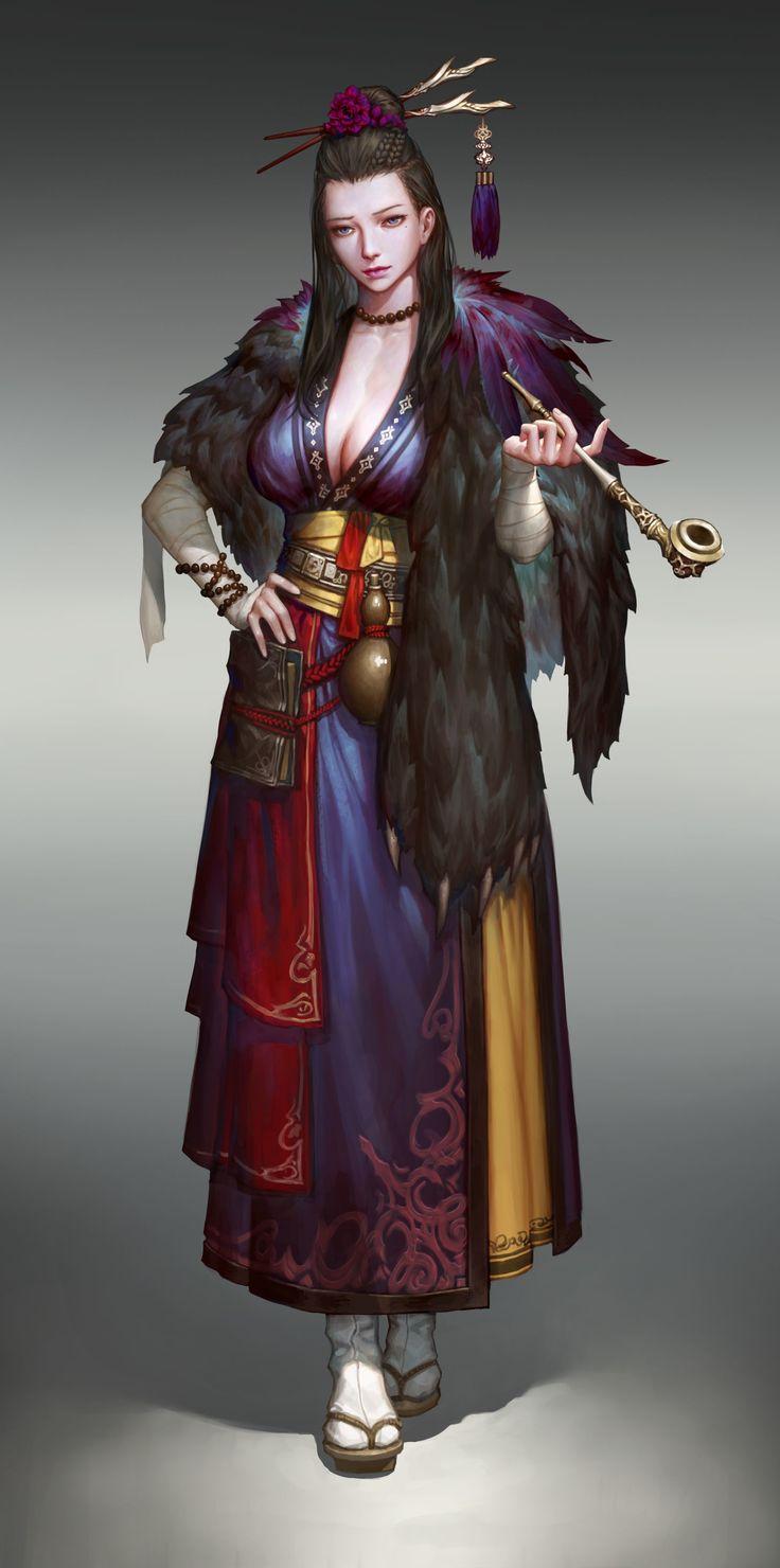 ArtStation - Oriental exorcist, JeongSeok Lee