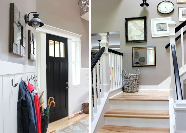 Foyer Paint Colors Behr : Best images about staircase on pinterest modern
