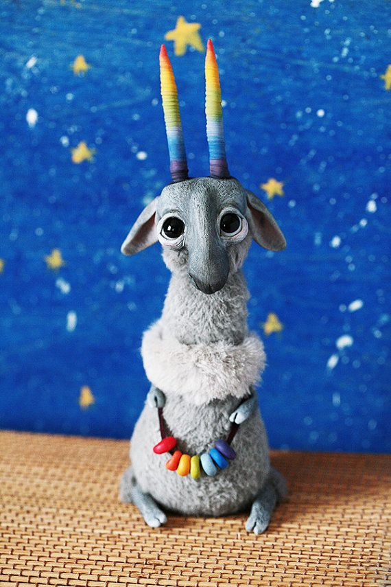 RESERVED: The Magical Goat of Tolerance by chercheto on Etsy