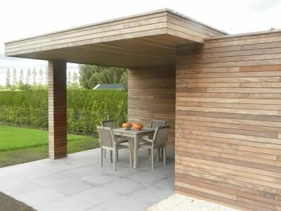 Poolhouses / Poolhouse in moderne stijl   Coppens webshop