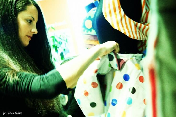 ReeDo Couture Fanciful | Workshop di sartoria di riuso livello introduttivo    More info: http://www.reedocouture.com/    #workshop #couture #fashion #reuse #vintage #clothes