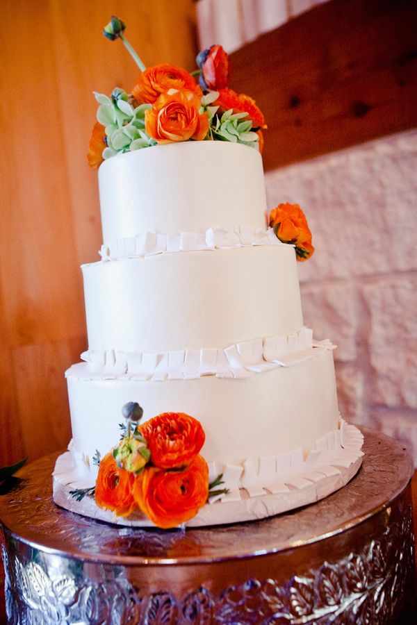wedding cake with orange flowers 20 best orange and white event inspiration images on 26931