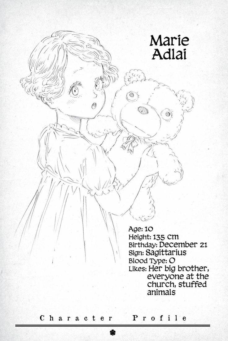 Marie Adlai Anime Black Clover Birthday December