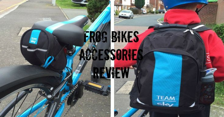 Check out our review of the fantastic Frog Bikes Team Sky rucksack and saddle pack.