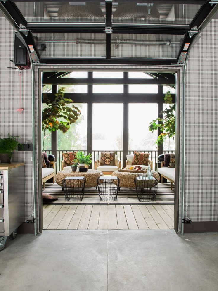 Screened Porch Pictures From Hgtv Urban Oasis 2016 Glass