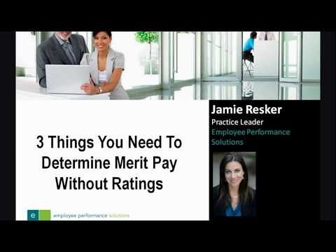 3 Things You Need To Determine Merit Pay Without Ratings