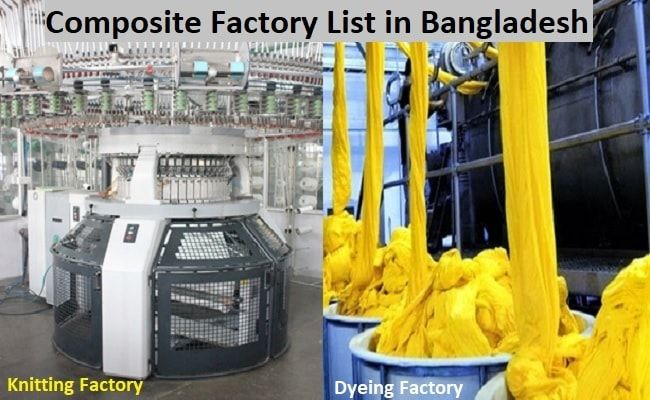 Composite textile factory list in Bangladesh | Fiber2Apparel