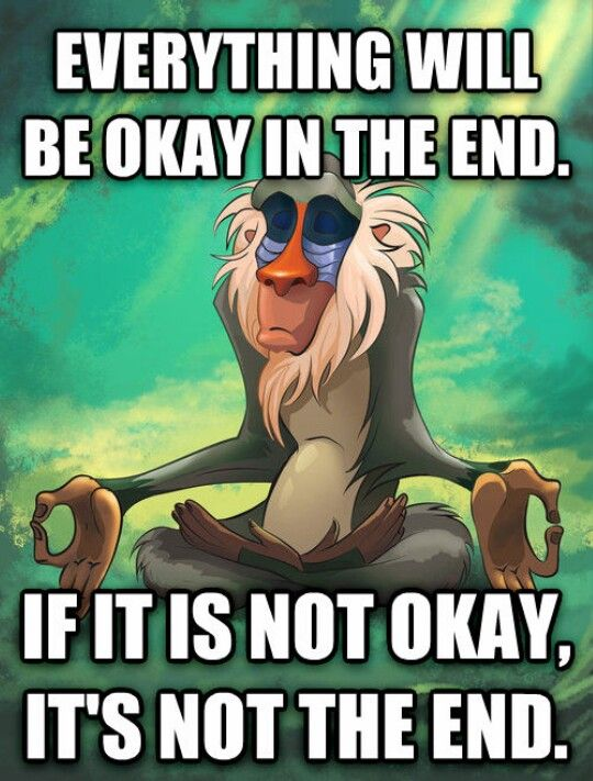 The Lion King delivering wisdom for 20 years                                                                                                                                                                                 More