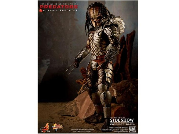 Movie Masterpiece 1/6 Scale Classic Predator - Predator Figures