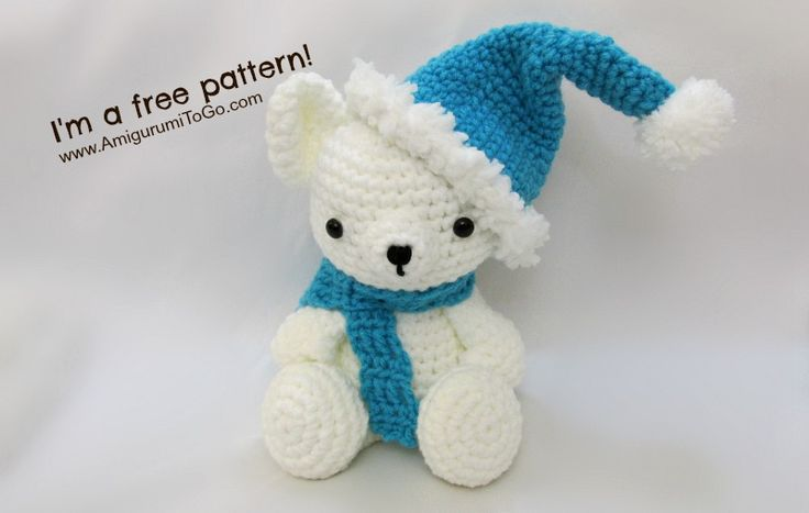 Christmas Hat and Scarf - FREE Crochet Pattern / Tutorial
