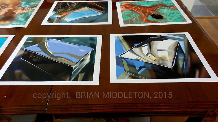 The first proofs of my new digital paintings. www.brianmiddletonart.ca, @MiddletonsArt