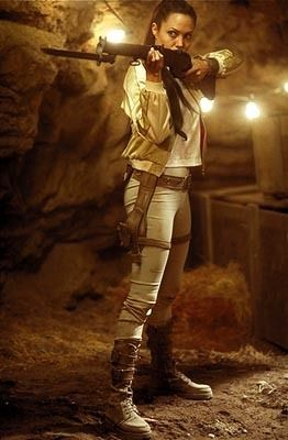 Photo of Angelina Jolie starring. for fans of Tomb Raider: Lara Croft..