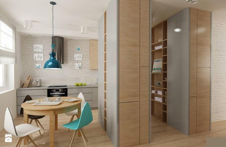 skandynawska nowoczesność i prostota Kuchnia - zdjęcie od Archomega Biuro Architektoniczne