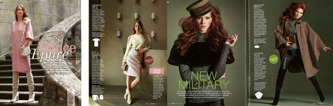 Quelques pages Burda Style octobre 2013