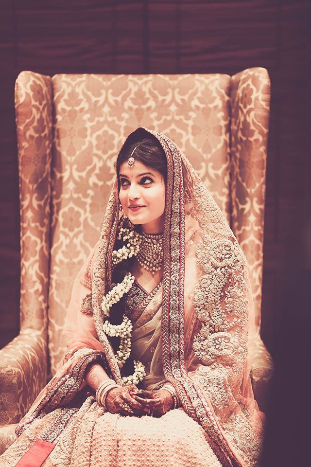 Beautiful Indian Bride | Photo by Arjun Tryst