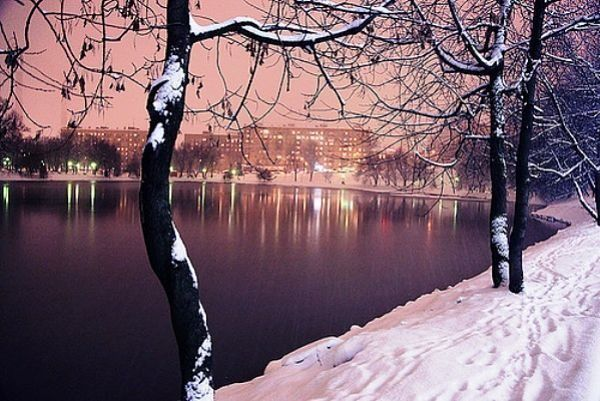 Moscow at winter