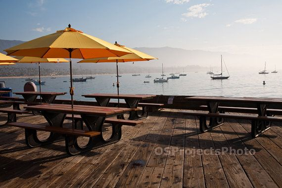Peaceful morning in Santa Barbara  Fine Art by OSProjectsPhoto, $30.00