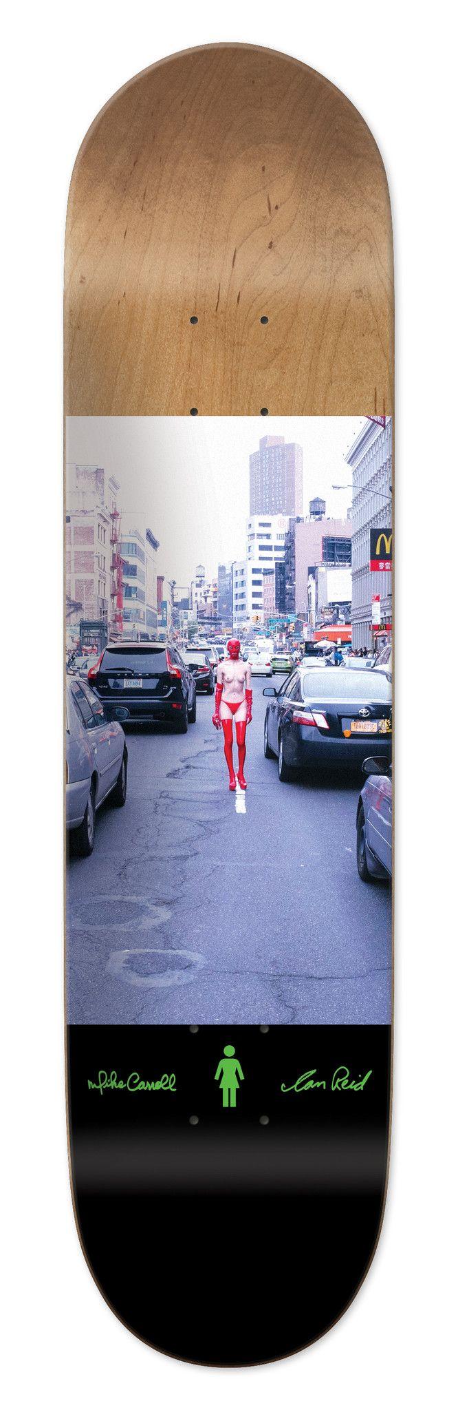 """Jackie"" Skateboard Deck | Ian Reid x Mike Carroll x Girl"