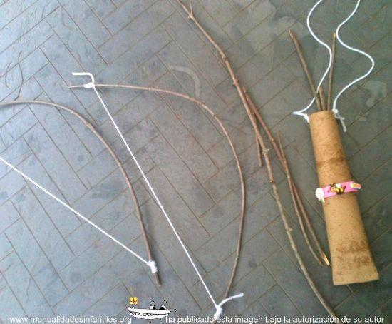 arcos y flechas caseros