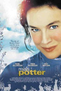 Miss Potter ~ 2006 ~ Renee Zellweger, Ewan McGregor and Emily Watson ~ The story of Beatrix Potter, author of beloved children's book The Tale of Peter Rabbit.