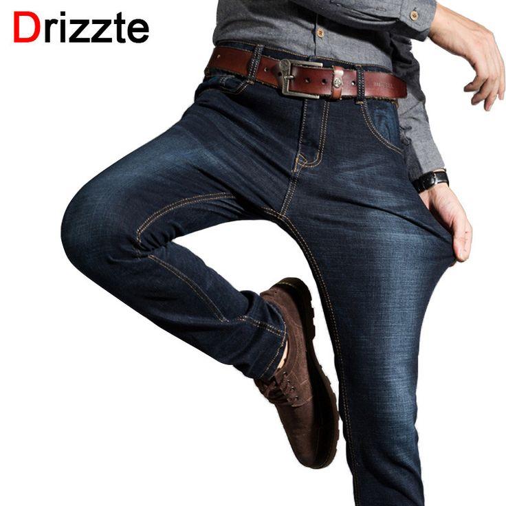 Drizzte New Mens Stretch Black Denim Jeans Pants Fashion Slim Fit Best Jean Trousers for Mens