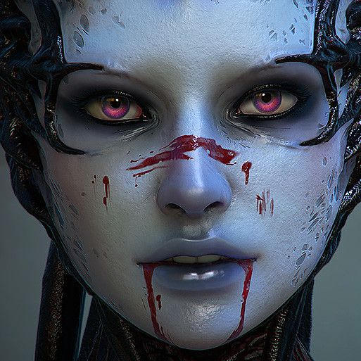 Cat-Undead, Olya Anufrieva on ArtStation at https://www.artstation.com/artwork/bOz5G