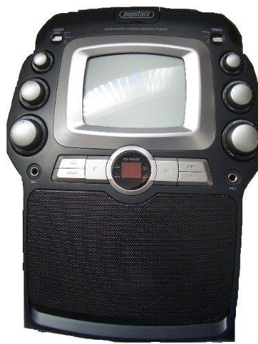 Popstarz GK591 CDG Karaoke System with B W TV and Camera   Microphone Full Karaoke System with Mono-Tone TV for lyrics and face filming Camera   Microphone (Barcode EAN = 5391509576253). http://www.comparestoreprices.co.uk/december-2016-6/popstarz-gk591-cdg-karaoke-system-with-b w-tv-and-camera- -microphone.asp